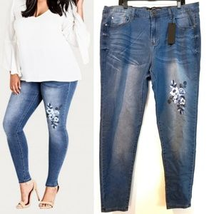 20 City Chic 'Posey' Harley High Rise Skinny Jean